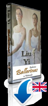 Liu Yi - Ballerinas in watercolour - Direct Download