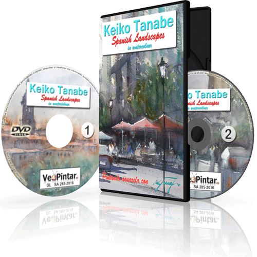 Keiko Tanabe – Spanish Landscapes in watercolour DVD